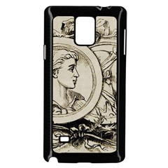 Young 1515867 1280 Samsung Galaxy Note 4 Case (black)