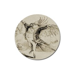 Bird 1515866 1280 Magnet 3  (round) by vintage2030
