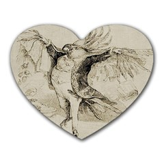 Bird 1515866 1280 Heart Mousepads by vintage2030