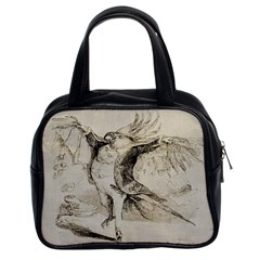 Bird 1515866 1280 Classic Handbag (two Sides) by vintage2030