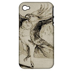 Bird 1515866 1280 Apple Iphone 4/4s Hardshell Case (pc+silicone) by vintage2030