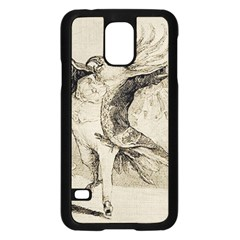 Bird 1515866 1280 Samsung Galaxy S5 Case (black) by vintage2030