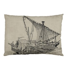 Ship 1515860 1280 Pillow Case by vintage2030