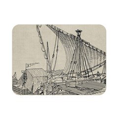 Ship 1515860 1280 Double Sided Flano Blanket (mini)  by vintage2030