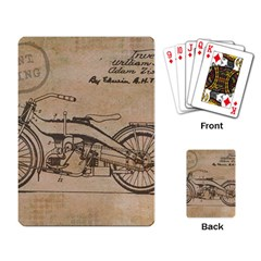 Motorcycle 1515873 1280 Playing Card by vintage2030