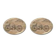 Motorcycle 1515873 1280 Cufflinks (oval) by vintage2030