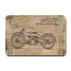Motorcycle 1515873 1280 Small Doormat  by vintage2030