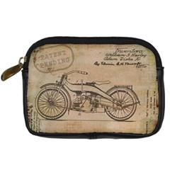 Motorcycle 1515873 1280 Digital Camera Leather Case by vintage2030