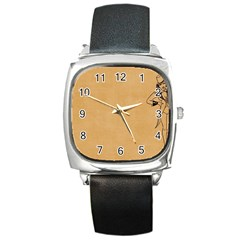 Flapper 1515869 1280 Square Metal Watch by vintage2030