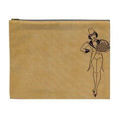 Flapper 1515869 1280 Cosmetic Bag (xl) by vintage2030