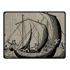 Ship 1515875 1280 Fleece Blanket (small) by vintage2030