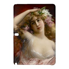 Victorian Lady In Pink Samsung Galaxy Tab Pro 12 2 Hardshell Case by vintage2030