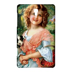 Girl With Dog Samsung Galaxy Tab S (8 4 ) Hardshell Case