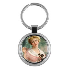 Vintage 1501585 1280 Copy Key Chains (round)  by vintage2030