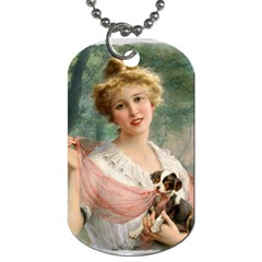 Vintage 1501585 1280 Copy Dog Tag (one Side) by vintage2030