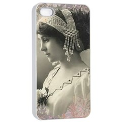 Vintage 1501540 1920 Apple Iphone 4/4s Seamless Case (white) by vintage2030