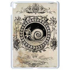 Snail 1618209 1280 Apple Ipad Pro 9 7   White Seamless Case by vintage2030