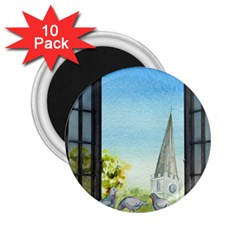 Town 1660455 1920 2 25  Magnets (10 Pack)  by vintage2030