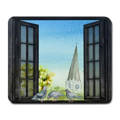 Town 1660455 1920 Large Mousepads by vintage2030