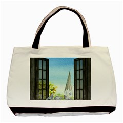 Town 1660455 1920 Basic Tote Bag by vintage2030