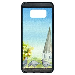Town 1660455 1920 Samsung Galaxy S8 Black Seamless Case by vintage2030