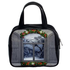 Winter 1660924 1920 Classic Handbag (two Sides) by vintage2030