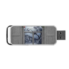 Winter 1660924 1920 Portable Usb Flash (one Side) by vintage2030