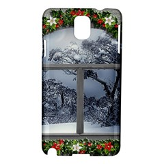 Winter 1660924 1920 Samsung Galaxy Note 3 N9005 Hardshell Case by vintage2030