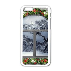 Winter 1660924 1920 Apple Iphone 6/6s White Enamel Case by vintage2030