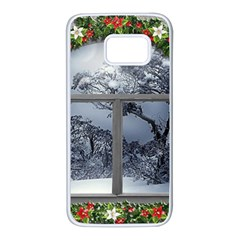 Winter 1660924 1920 Samsung Galaxy S7 White Seamless Case by vintage2030