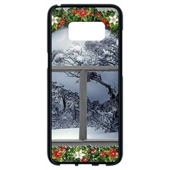 Winter 1660924 1920 Samsung Galaxy S8 Black Seamless Case by vintage2030