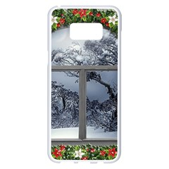 Winter 1660924 1920 Samsung Galaxy S8 Plus White Seamless Case by vintage2030