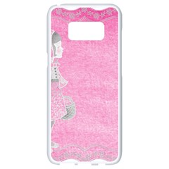 Tag 1659629 1920 Samsung Galaxy S8 White Seamless Case by vintage2030