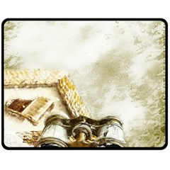 Background 1660942 1920 Fleece Blanket (medium)  by vintage2030
