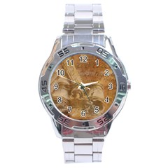 Background 1660940 1920 Stainless Steel Analogue Watch by vintage2030