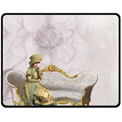 Background 1659612 1920 Double Sided Fleece Blanket (medium)  by vintage2030