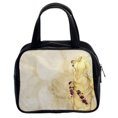 Background 1659622 1920 Classic Handbag (two Sides) by vintage2030