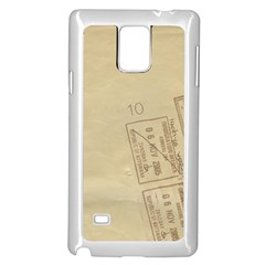 Background 1659638 1920 Samsung Galaxy Note 4 Case (white)