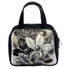 Flowers 1776382 1280 Classic Handbag (two Sides) by vintage2030