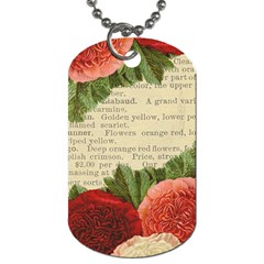 Flowers 1776422 1920 Dog Tag (two Sides)