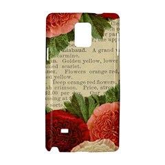 Flowers 1776422 1920 Samsung Galaxy Note 4 Hardshell Case by vintage2030