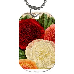 Flowers 1776584 1920 Dog Tag (two Sides)