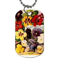 Flowers 1776534 1920 Dog Tag (two Sides)