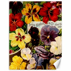 Flowers 1776534 1920 Canvas 12  X 16  by vintage2030
