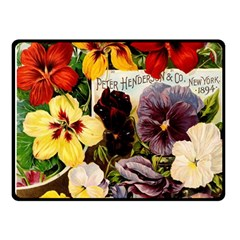Flowers 1776534 1920 Fleece Blanket (small) by vintage2030