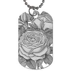 Flowers 1776610 1920 Dog Tag (one Side) by vintage2030