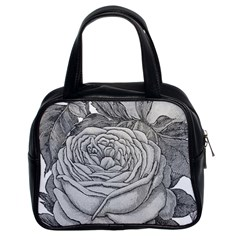Flowers 1776610 1920 Classic Handbag (two Sides) by vintage2030