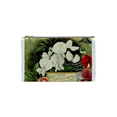 Flowers 1776617 1920 Cosmetic Bag (small) by vintage2030