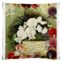 Flowers 1776617 1920 Standard Flano Cushion Case (one Side) by vintage2030