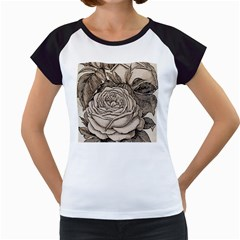 Flowers 1776630 1920 Women s Cap Sleeve T